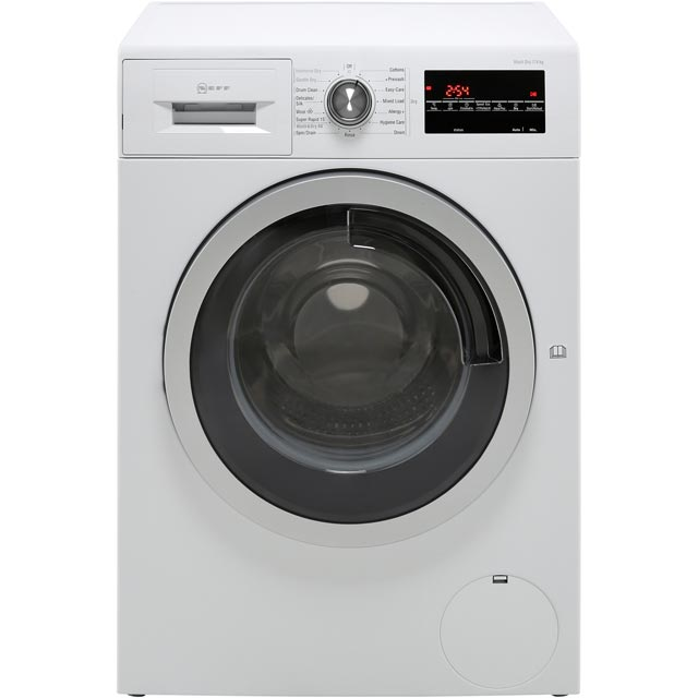 NEFF V7446X2GB 7Kg / 4Kg Washer Dryer with 1500 rpm - White - A Rated - V7446X2GB_WH - 1