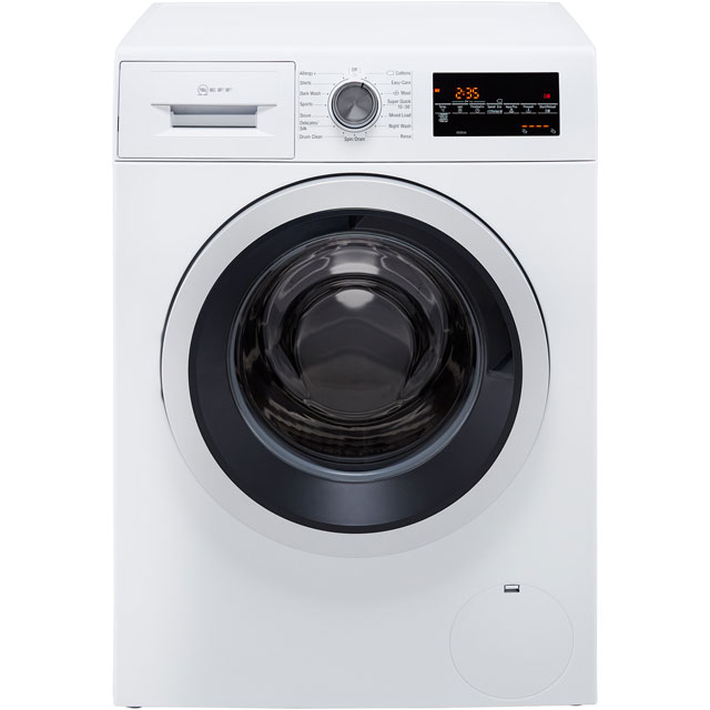 NEFF W7460X4GB 9Kg Washing Machine with 1400 rpm - White - A+++ Rated - W7460X4GB_WH - 1