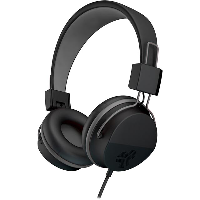 JLAB Neon On-ear Headphones - Black - NEONHP-BLK-BOX - 1