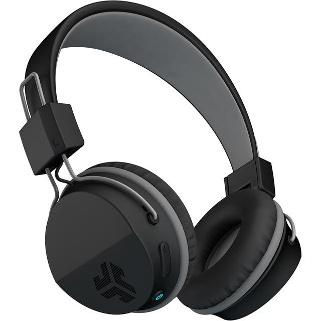 JLAB Neon On-ear Wireless Headphones - Black - NEONHPBT-BLK-BOX - 1