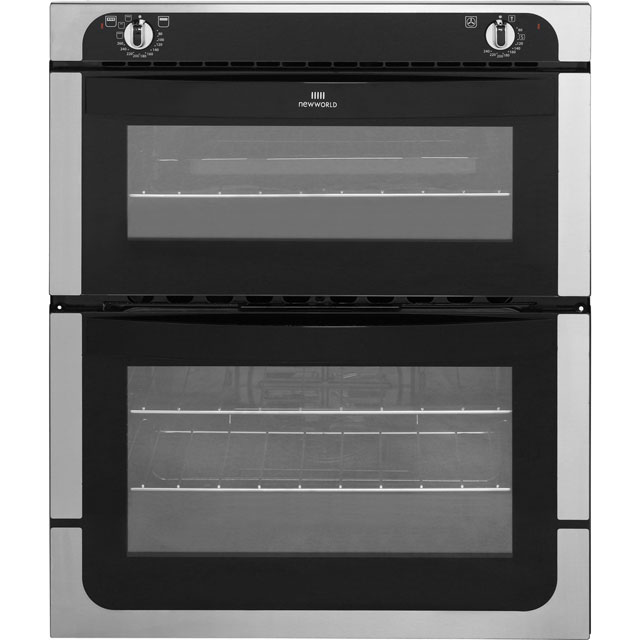 Newworld NW701DO Built Under Double Oven - Stainless Steel - A Rated - NW701DO_SS - 1