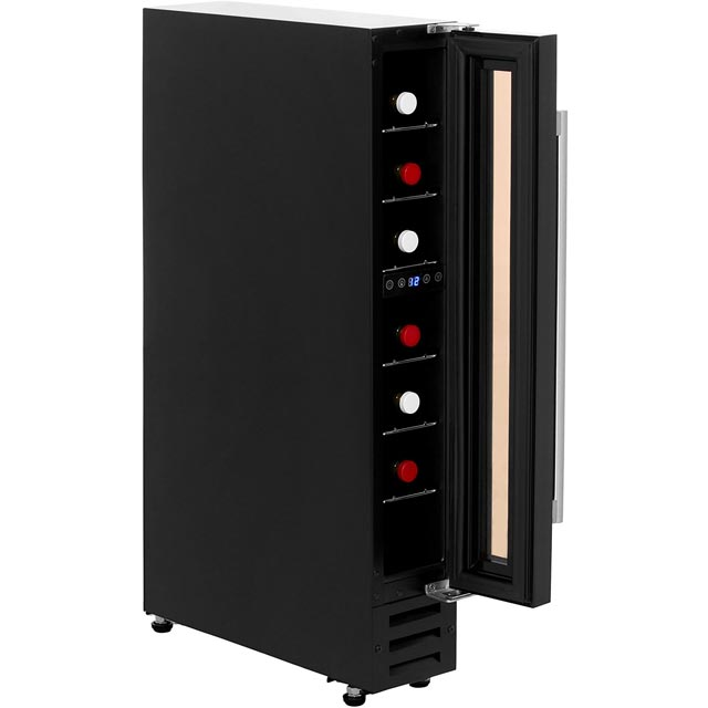 Newworld Unbranded 150BLKWC Built In Wine Cooler - Black - 150BLKWC_BK - 3