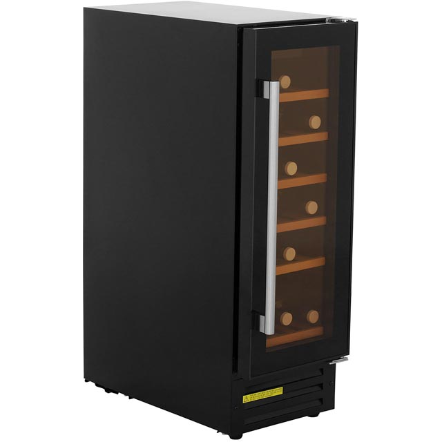 Belling Unbranded 300BLKWC Built In Wine Cooler - Black - B Rated