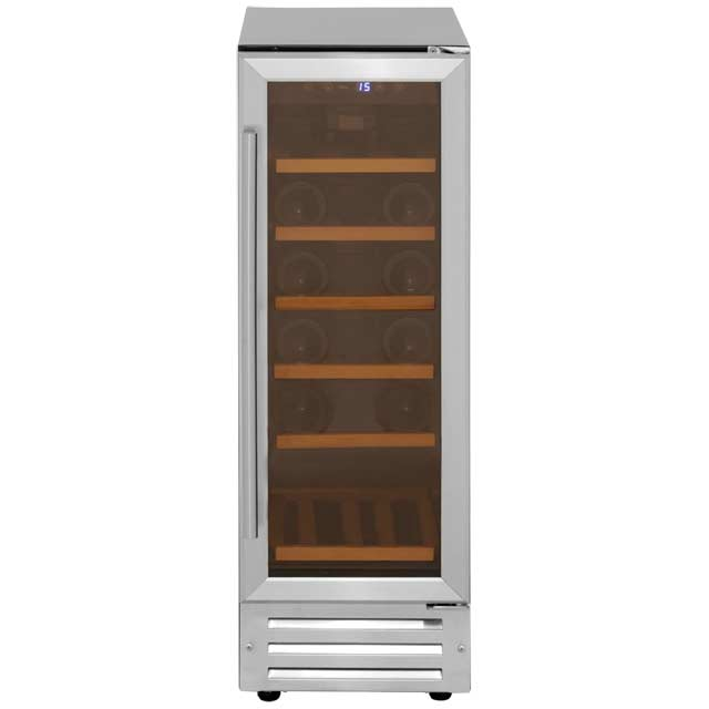 Belling Unbranded 300SSWCMK2 Built In Wine Cooler - Stainless Steel - 300SSWCMK2_SS - 1