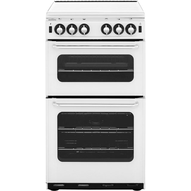 Newworld Newhome 50cm Gas Cooker - White - B Rated