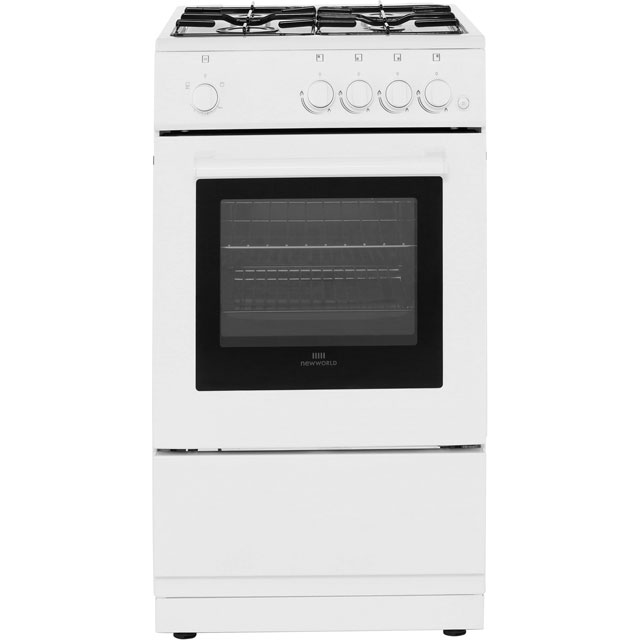 Newworld Gas Cooker - White - A Rated