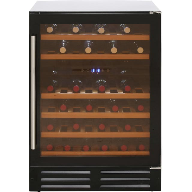 Newworld 600BLKWC Built In Wine Cooler - Black - C Rated - 600BLKWC_BK - 1