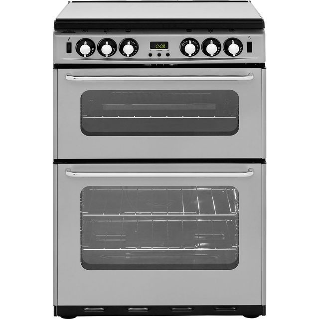 Newworld Newhome 600TSIDOM Free Standing Cooker in Silver