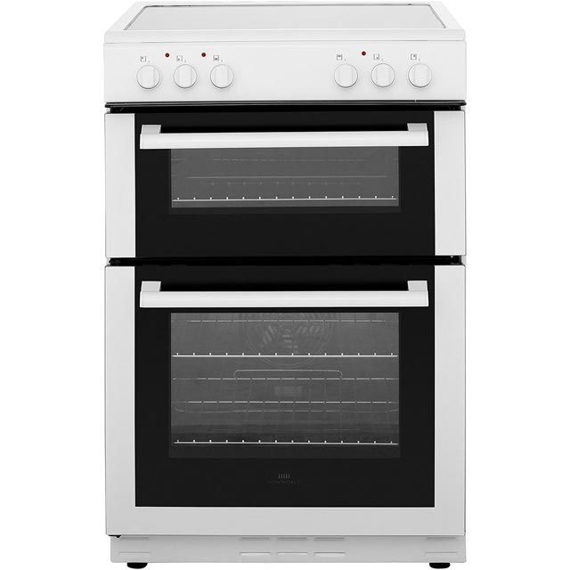 Newworld 60EDOC Electric Cooker with Ceramic Hob - White - B/A Rated - 60EDOC_WH - 1