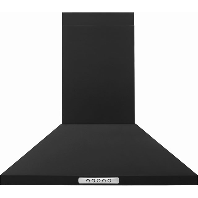 Newworld Unbranded CHIM60B 60 cm Chimney Cooker Hood - Black - E Rated - CHIM60B_BK - 1