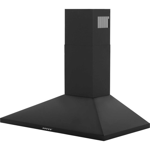 Belling Unbranded CHIM90BK 90 cm Chimney Cooker Hood - Black - E Rated - CHIM90BK_BK - 1