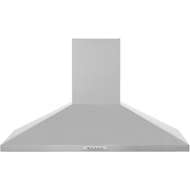 Newworld Unbranded CHIM90SS 90 cm Chimney Cooker Hood - Stainless Steel - E Rated - CHIM90SS_SS - 1
