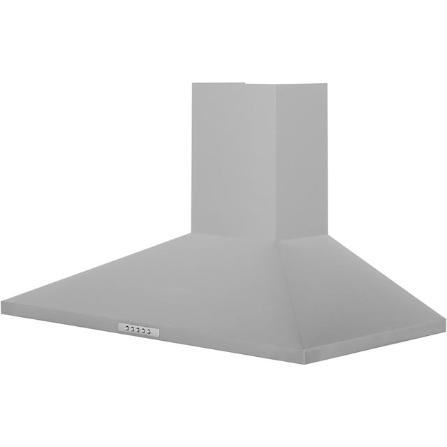 Belling Unbranded CHIM90SS 90 cm Chimney Cooker Hood - Stainless Steel - E Rated - CHIM90SS_SS - 1