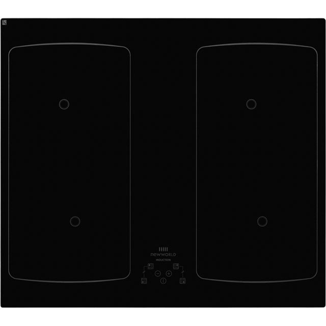 Newworld IHF60T 59cm Induction Hob - Black - IHF60T_BK - 1