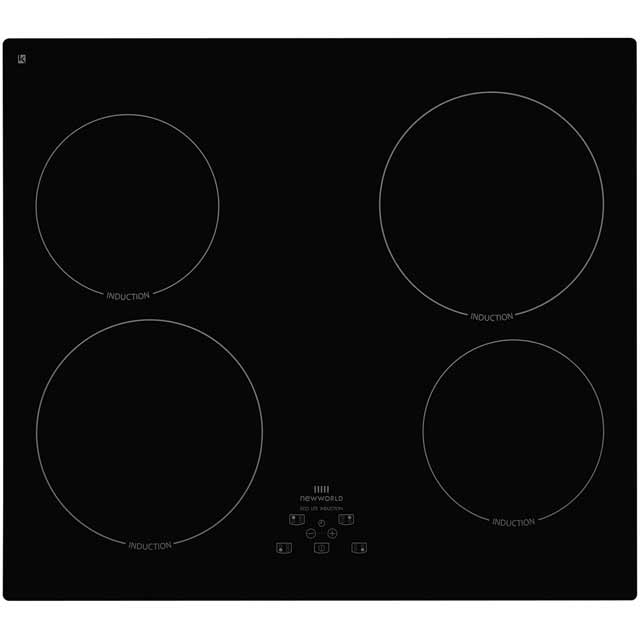 Newworld IHT601 59cm Induction Hob - Black - IHT601_BK - 1