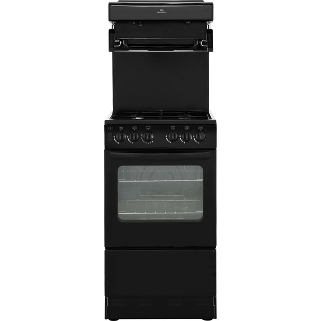 Newworld NW50THLG Gas Cooker - Black - NW50THLG_BK - 1