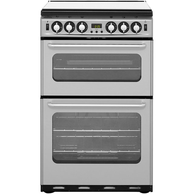Newworld 55cm Gas Cooker - Silver - A/A Rated