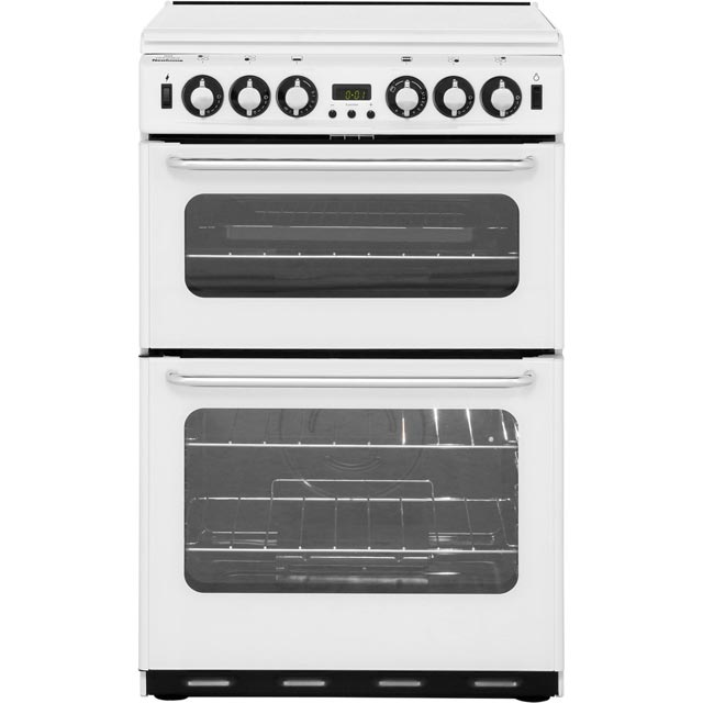 Newworld NW550TSIDOM Gas Cooker with Electric Grill - White - A/A Rated