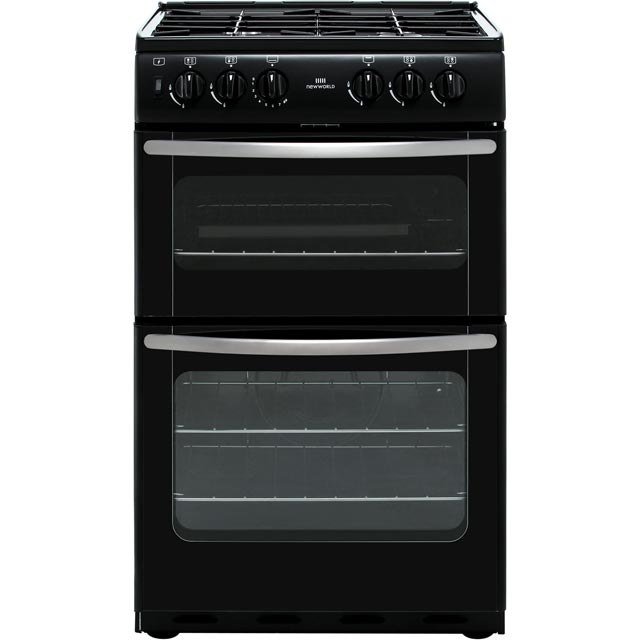 Newworld NW55TWLGLPG LPG Cooker with Gas Grill - Black - A Rated