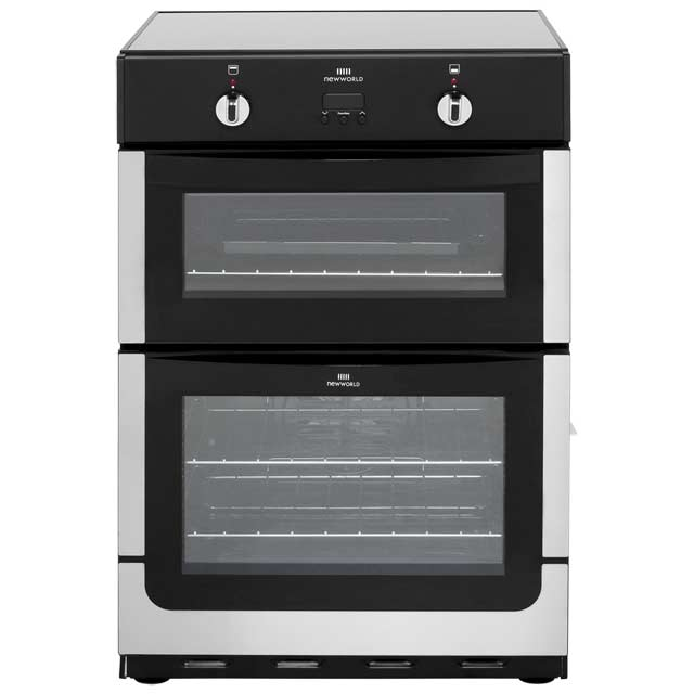 Newworld Nw601edomti Electric Cooker With Induction Hob Stainless Steel A Rated