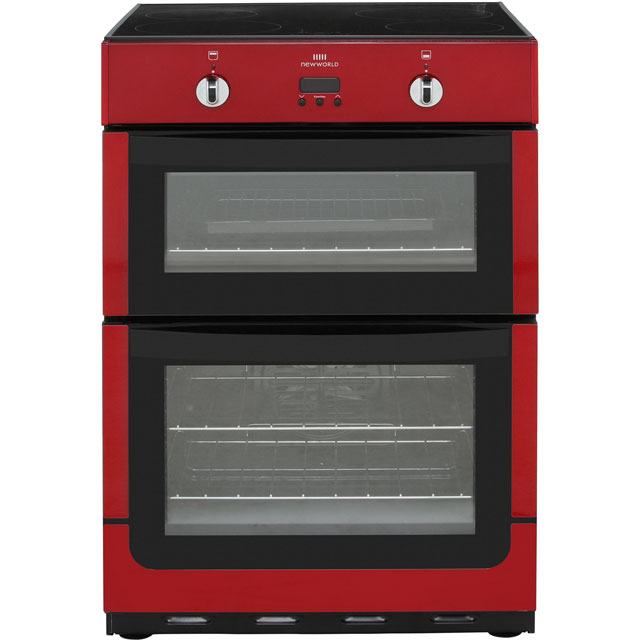 Newworld NW601EDOMTi Electric Cooker - Metallic Red - NW601EDOMTi_MRD - 1