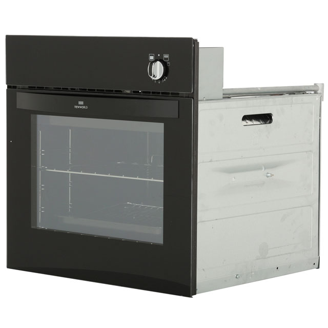Newworld NW601G Built In Gas Single Oven - Black - NW601G_BK - 4