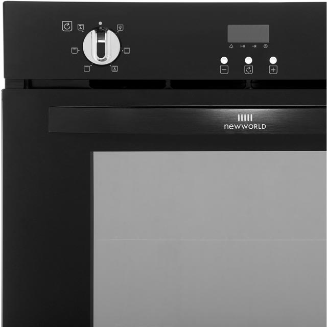 Newworld NW602FP Built In Electric Single Oven - Black - NW602FP_BK - 2