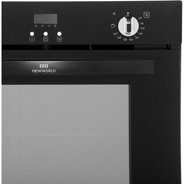 Newworld NW602FP Built In Electric Single Oven - Black - NW602FP_BK - 3