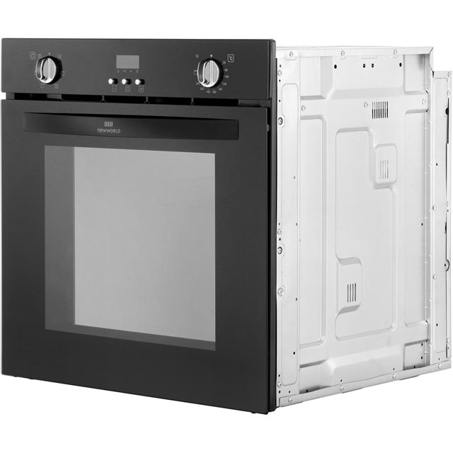Newworld NW602FP Built In Electric Single Oven - Black - NW602FP_BK - 4