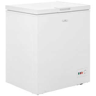 New World NWCF142L Freestanding Chest Freezer - White