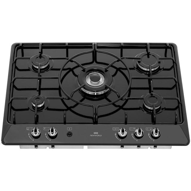 Newworld NWGHU701 Built In Gas Hob - Stainless Steel - NWGHU701_SS - 4