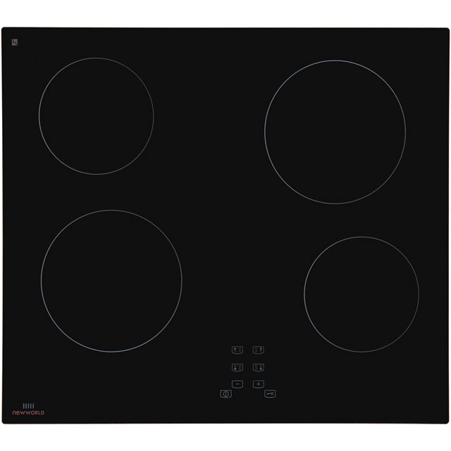 Newworld NWTC601 59cm Ceramic Hob - Granite Effect - NWTC601_GRA - 1
