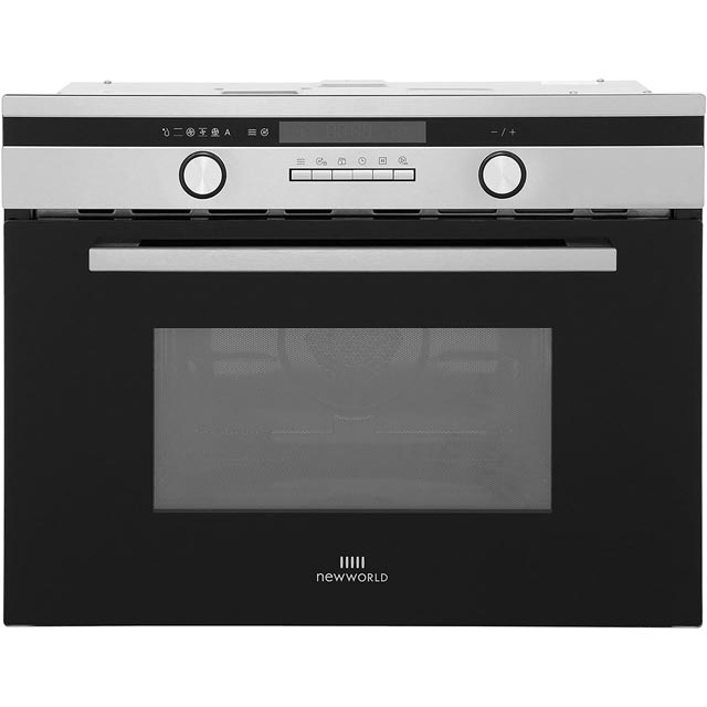 Newworld Design Built In Combination Microwave Oven - Stainless Steel