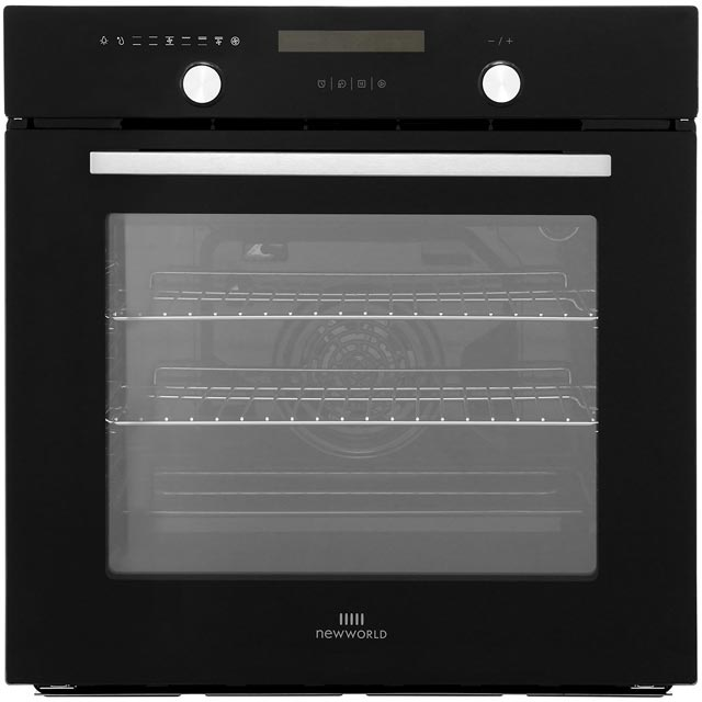 Newworld Design Suite60MF Built In Electric Single Oven - Black - A Rated - Suite60MF_BK - 1