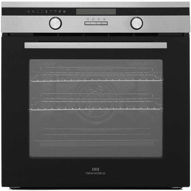 Newworld Design Suite60MF Built In Electric Single Oven - Stainless Steel - A Rated - Suite60MF_SS - 1