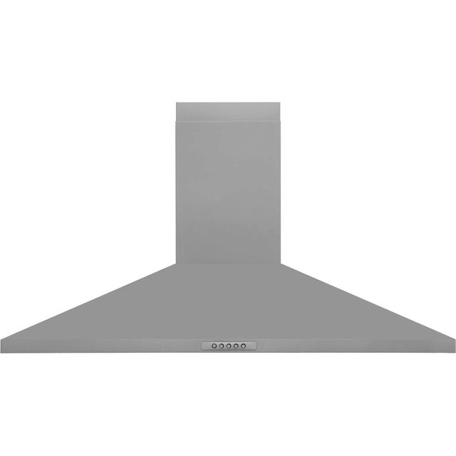 Belling Unbranded UH100SS Built In Chimney Cooker Hood - Stainless Steel - UH100SS_SS - 1