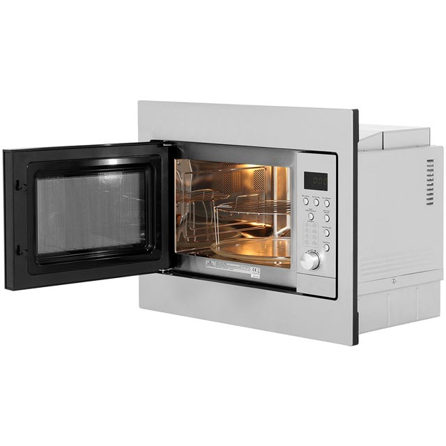 Newworld UIM600 Built In Microwave - Stainless Steel - UIM600_SS - 4