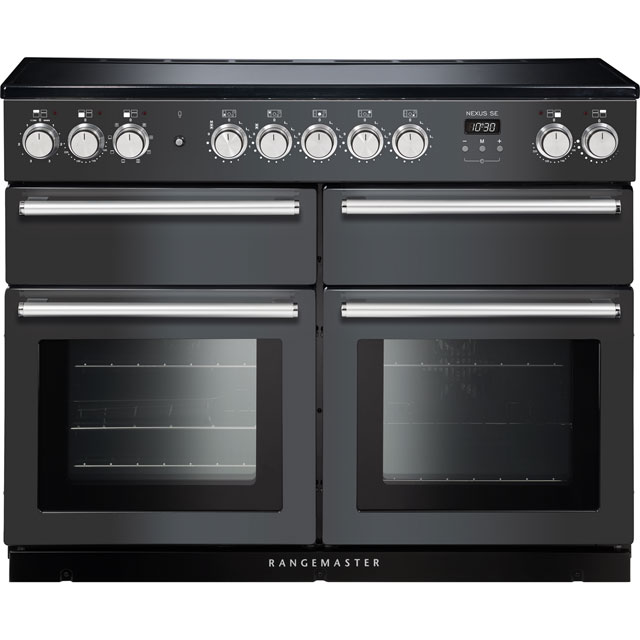 Rangemaster Nexus SE NEXSE110EISL/C 110cm Electric Range Cooker with Induction Hob - Slate - A/A Rated - NEXSE110EISL/C_SL - 1