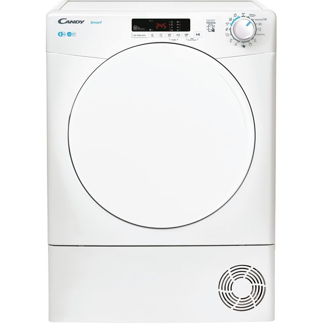 Candy Smart CSEC8DF 8Kg Condenser Tumble Dryer - White - B Rated
