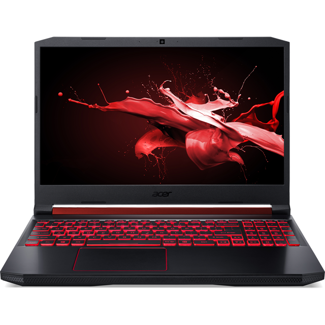 "Acer Nitro 5 (AN515-54) 15.6"" Gaming Laptop - Black - NH.Q59EK.018 - 1"