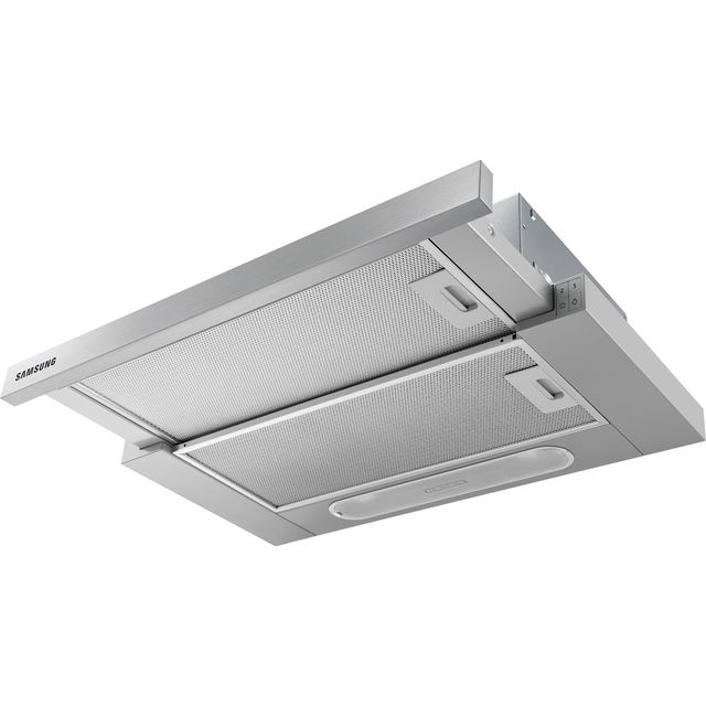 Samsung NK24M1030IS 60 cm Telescopic Cooker Hood - Stainless Steel - C Rated - NK24M1030IS_SS - 1