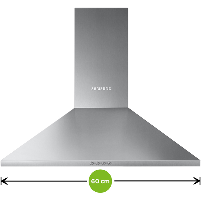 Samsung NK24M3050PS 60 cm Chimney Cooker Hood - Stainless Steel - NK24M3050PS_SS - 2