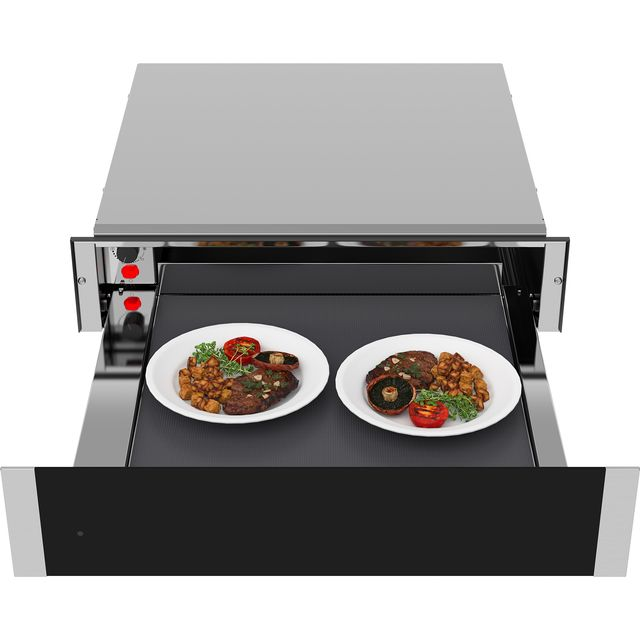 Samsung Chef Collection NL20J7100WB Built In Warming Drawer - Stainless Steel / Black Glass