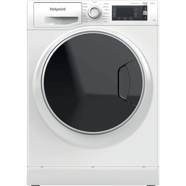 Image of Hotpoint ActiveCare NLLCD1044WDAWUKN 10Kg Washing Machine with 1400 rpm - White - A+++ Rated