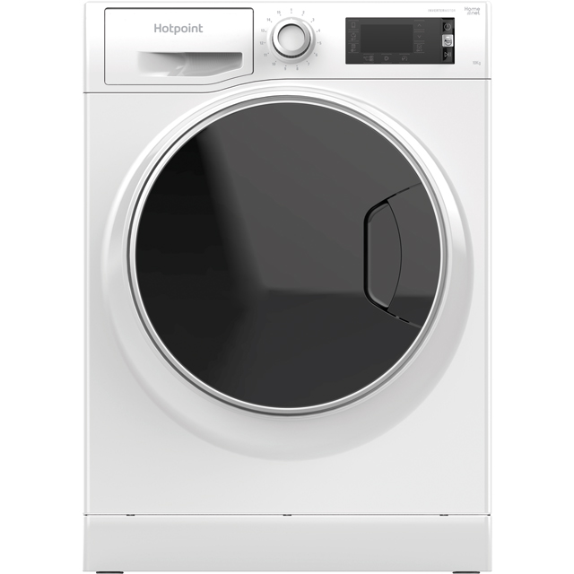 Hotpoint ActiveCare NLLCD1045WDAWUK Wifi Connected 10Kg Washing Machine with 1400 rpm - White - A+++ Rated