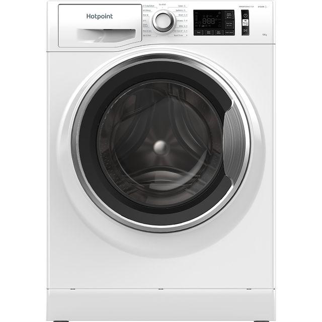 Hotpoint NM111044WCAUKN 10kg 1400rpm Freestanding Washing Machine - White