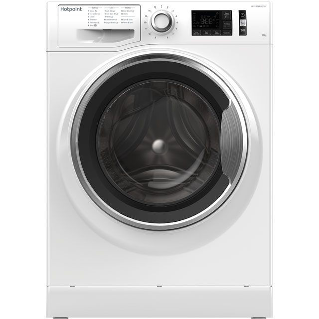 Hotpoint Active Care 10Kg Washing Machine - White - A+++ Rated