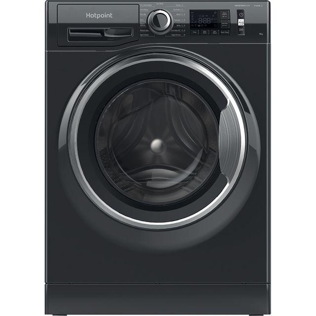 HOTPOINT NM11945BCAUKN 9kg 1400rpm Freestanding Washing Machine - Black