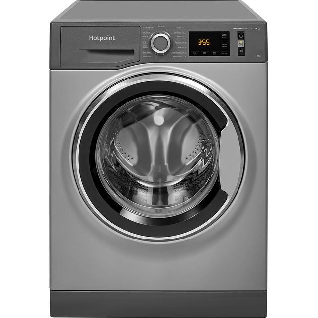 Hotpoint ActiveCare NM11945GCAUKN 9Kg Washing Machine with 1400 rpm - Graphite - A+++ Rated