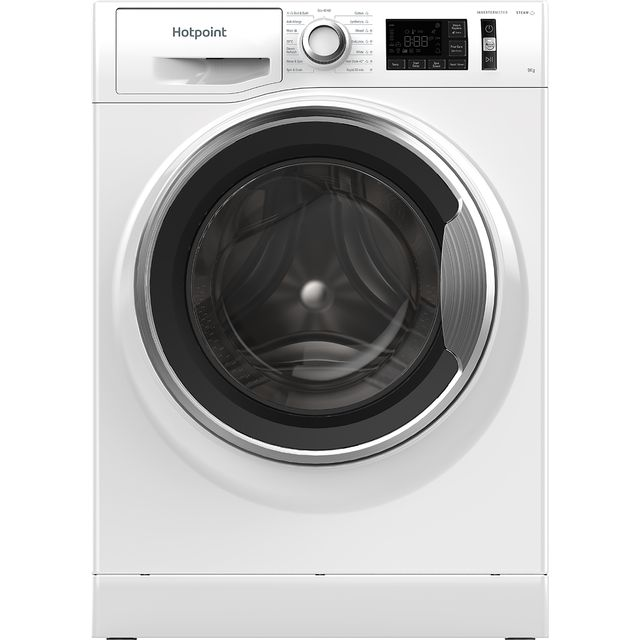 Hotpoint ActiveCare NM11945WCAUKN 9Kg Washing Machine with 1400 rpm - White - A+++ Rated